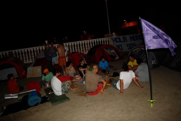 Acampada Cartagena y Marcha Murcia Despierta